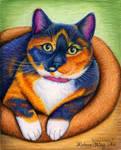 Colorful Pet Portrait - Zoey