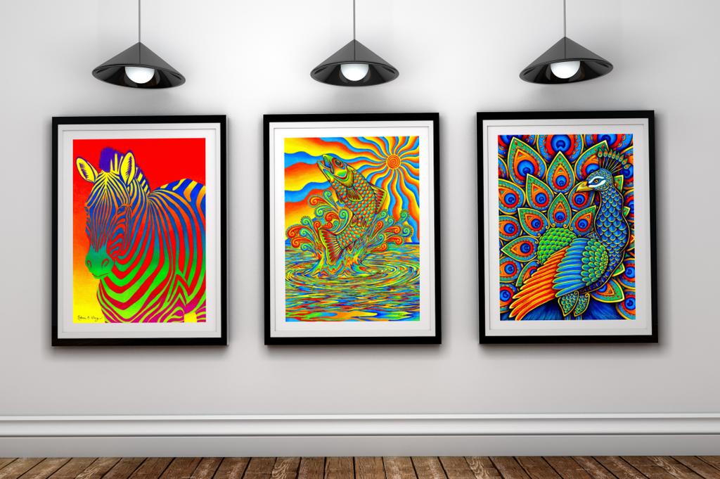 Art Gallery Mockup by psychedeliczen