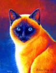 Jewel of the Orient - Siamese Cat
