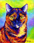 Colorful Pet Portrait - Itty Bitty