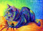 Colorful Pet Portrait - Spirit