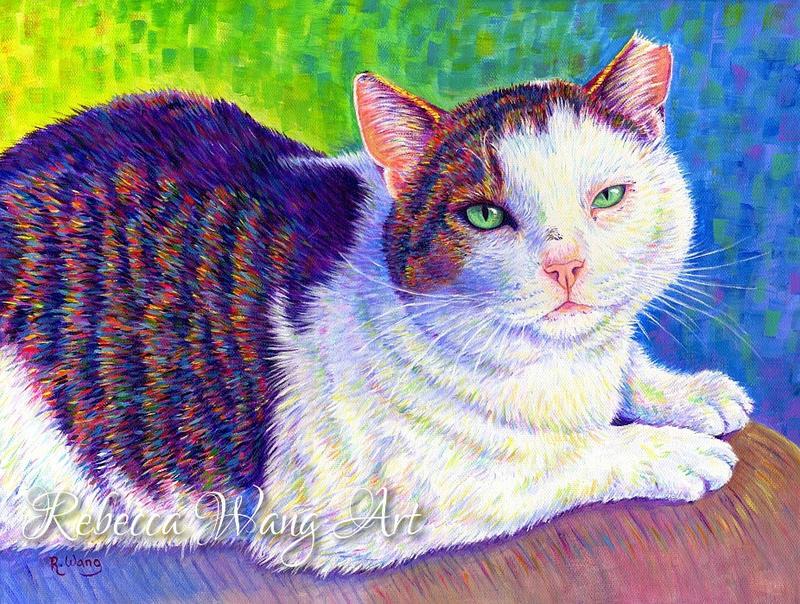 Colorful Pet Portrait - MC