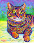 Colorful Pet Portrait - Kevin
