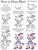 How to Draw Blaze Full Body by TikalLover