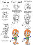 How to Draw Tikal Full Body