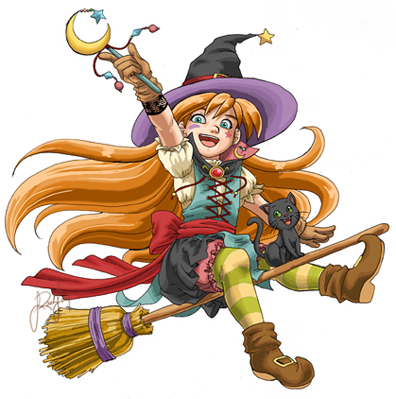 Halloween Witch by Ralley - Cad�Lara AvatarLar :)
