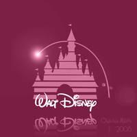 Disney Logo - Pink by NoxieArt