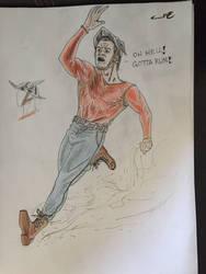 Jay Garrick: The Flash by skorpione10