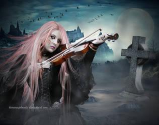 .: Sing for me my love :. by KuramaPhoenix