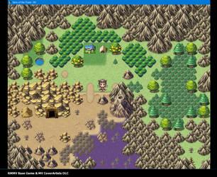 WorldMap for QuestBrett by AggroMiau