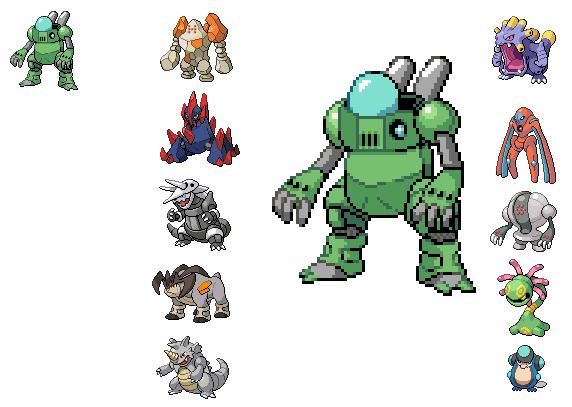Pokemon Fusion Sprites Generator   Pics   Download  
