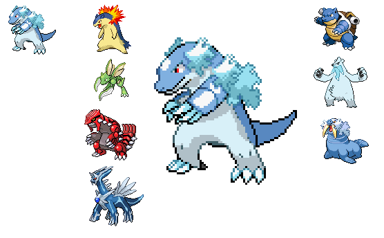 Pokemon Fusion Sprite Maker Images Pokemon Images