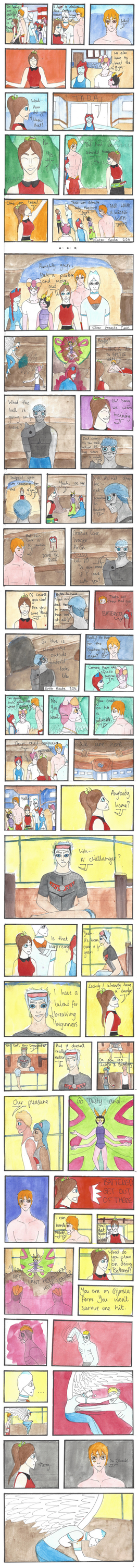 Unchained Nuzlocke: Page 22 by Naither