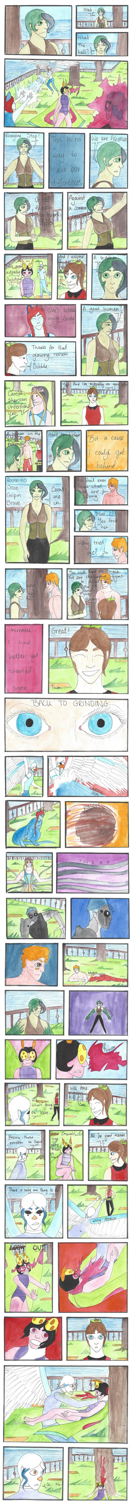 Unchained Nuzlocke: Page 27 by Naither