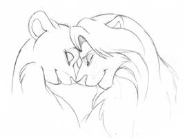 So This Is Love Sketch by ShungiLion