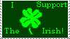 I Support the Irish - Stamp by Messenger777