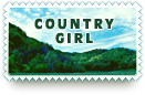 Country Girl Stamp by barefootphotos