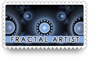 Fractal Artist Stamp by barefootphotos