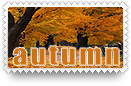 Autumn Stamp by barefootphotos