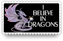 Believe in Dragons Stamp by barefootphotos