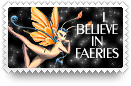 Believe in Faeries Stamp by barefootphotos