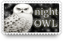 Night Owl Stamp by barefootphotos