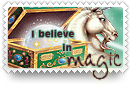 Believe in Magic Stamp by barefootphotos