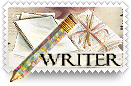 Writer v4 Stamp by barefootphotos