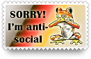 Antisocial Stamp by barefootphotos