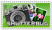 Shutterbug Stamp by barefootphotos