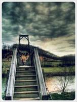 Swinging Bridge 1 by barefootphotos