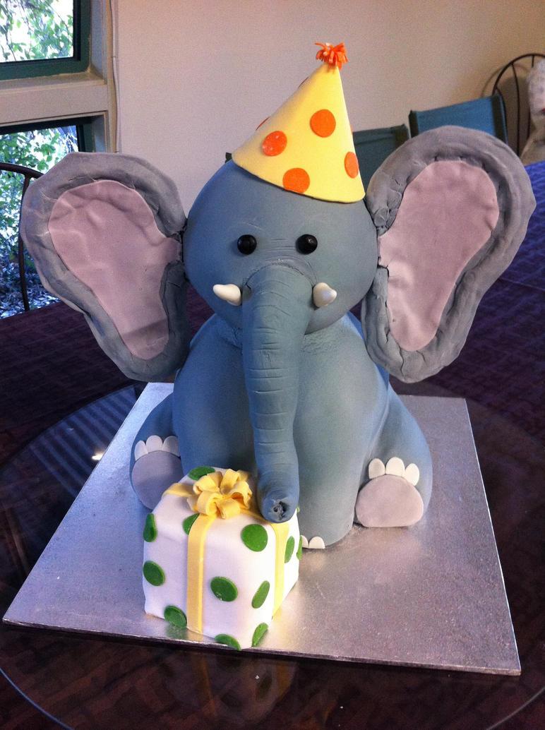 Elephant cake by Ratun on DeviantArt