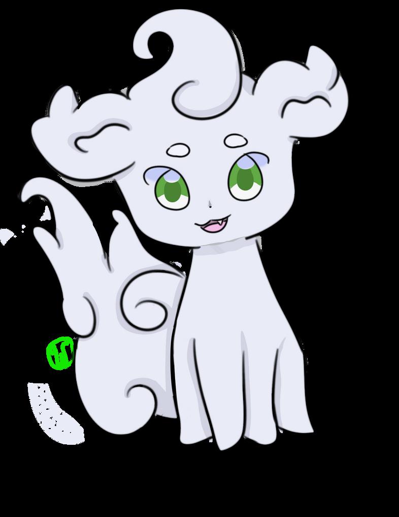 Random cute doodle by Wolvezsong