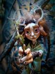 SOLD: Ephea - Ooak Kirin Fae Poseable Art Doll