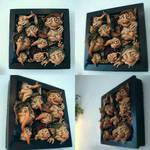 SOLD : Framed Goblins Wall Hanging