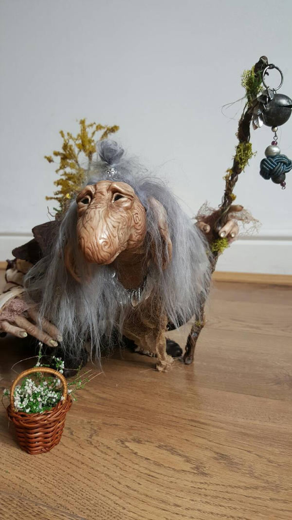 SOLD: Large Troll Commission - 'Maythorn' by FaunleyFae