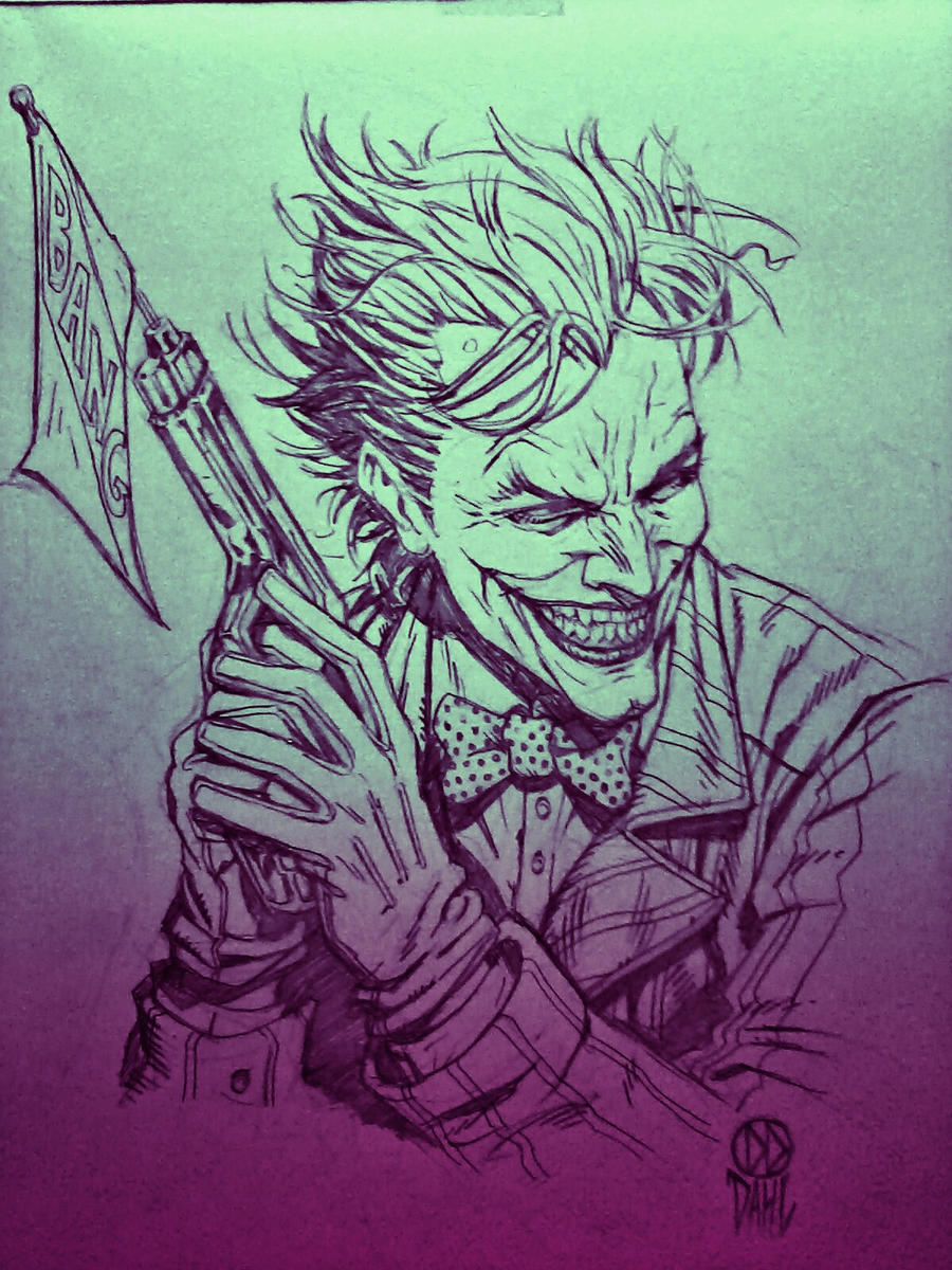 Classic Joker by DanielDahl