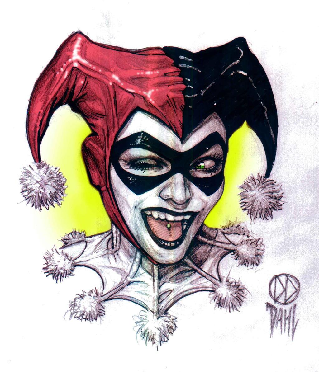 Harley Quinn by DanielDahl