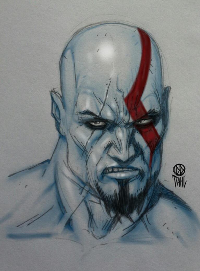 kratos sketch picture kratos sketch image