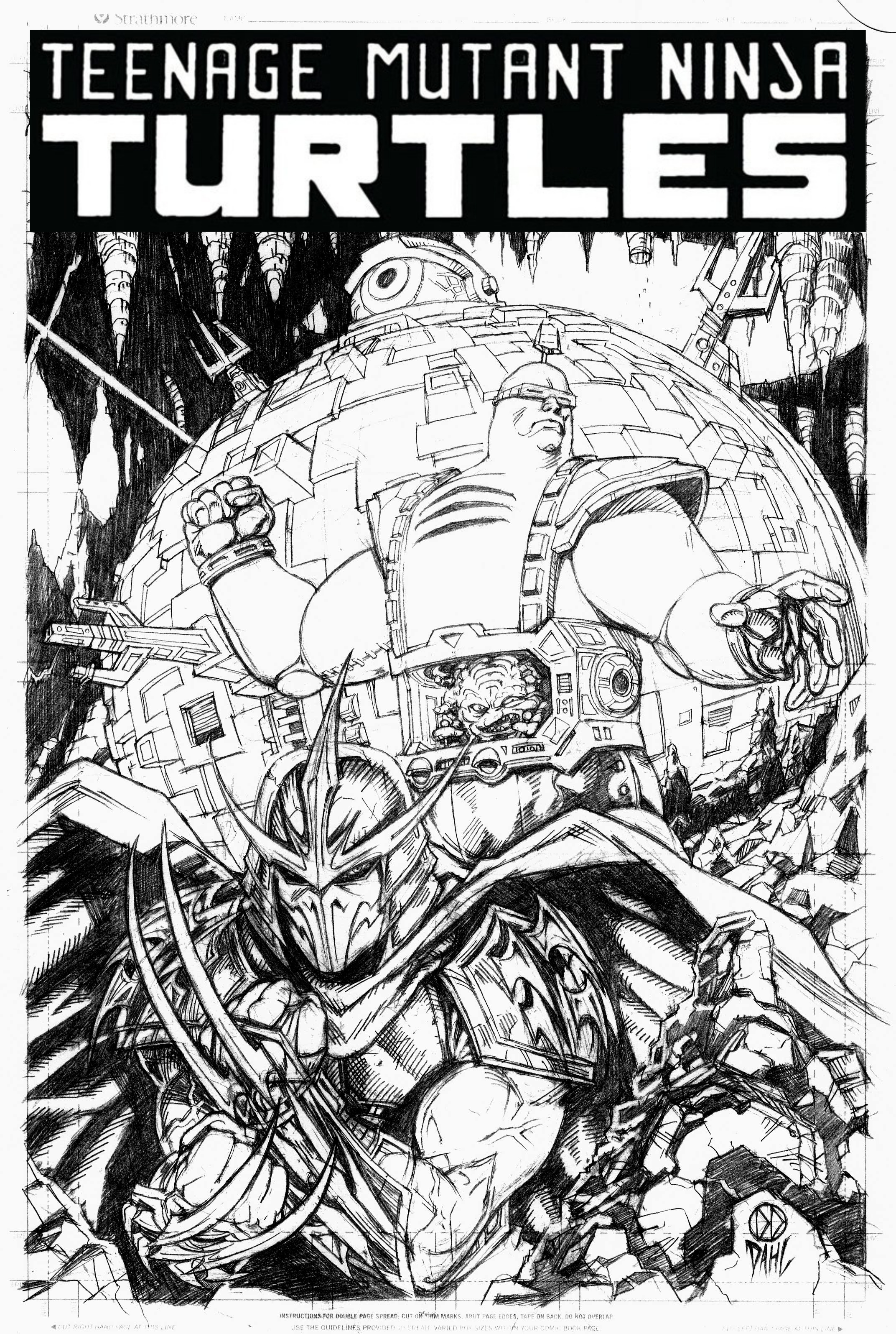 Shredder/Krang by DanielDahl