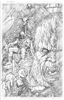 Skeletor and Beastman by DanielDahl