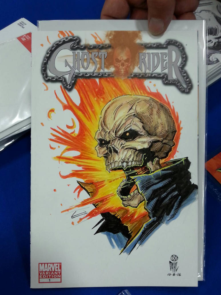 Ghost Rider Sketch Cover by DanielDahl