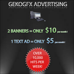GekoGfx Ad Poster by faaj