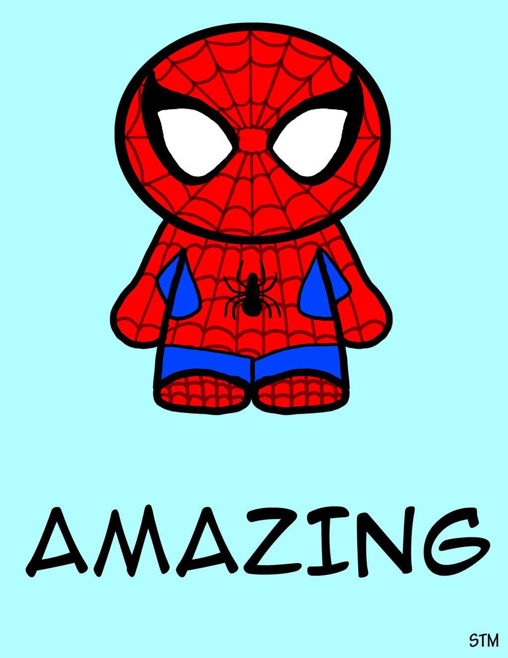 spiderman cartoon cute
