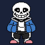 Sans the skeleton (discord out soon)