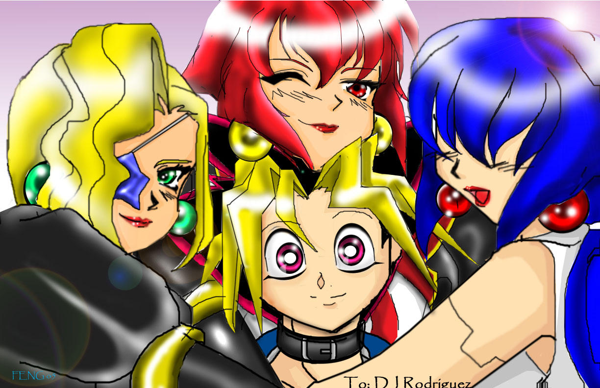 yuugi and the saberdolls by fenghuang on deviantart