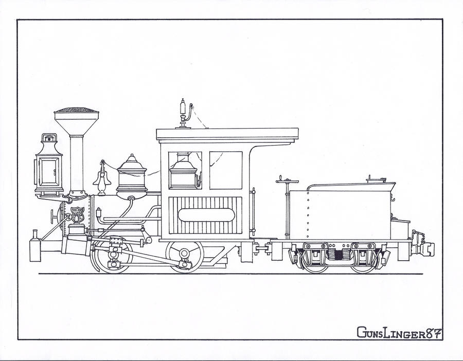 nwrr locomotive by gunslinger87 on deviantart