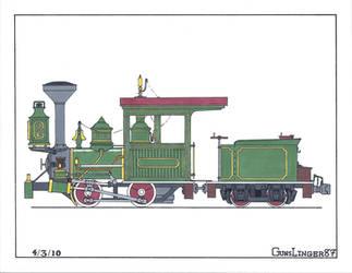 BTMt. 0-4-0 Green Scheme by gunslinger87