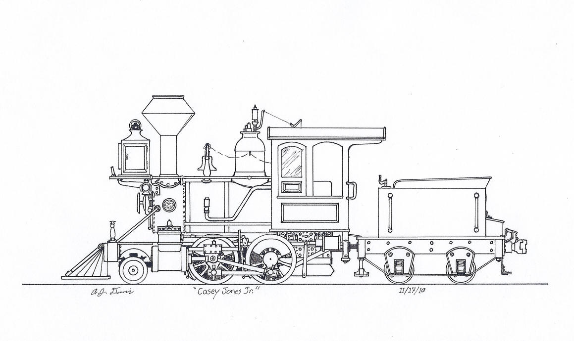 diagram of electric locomotive