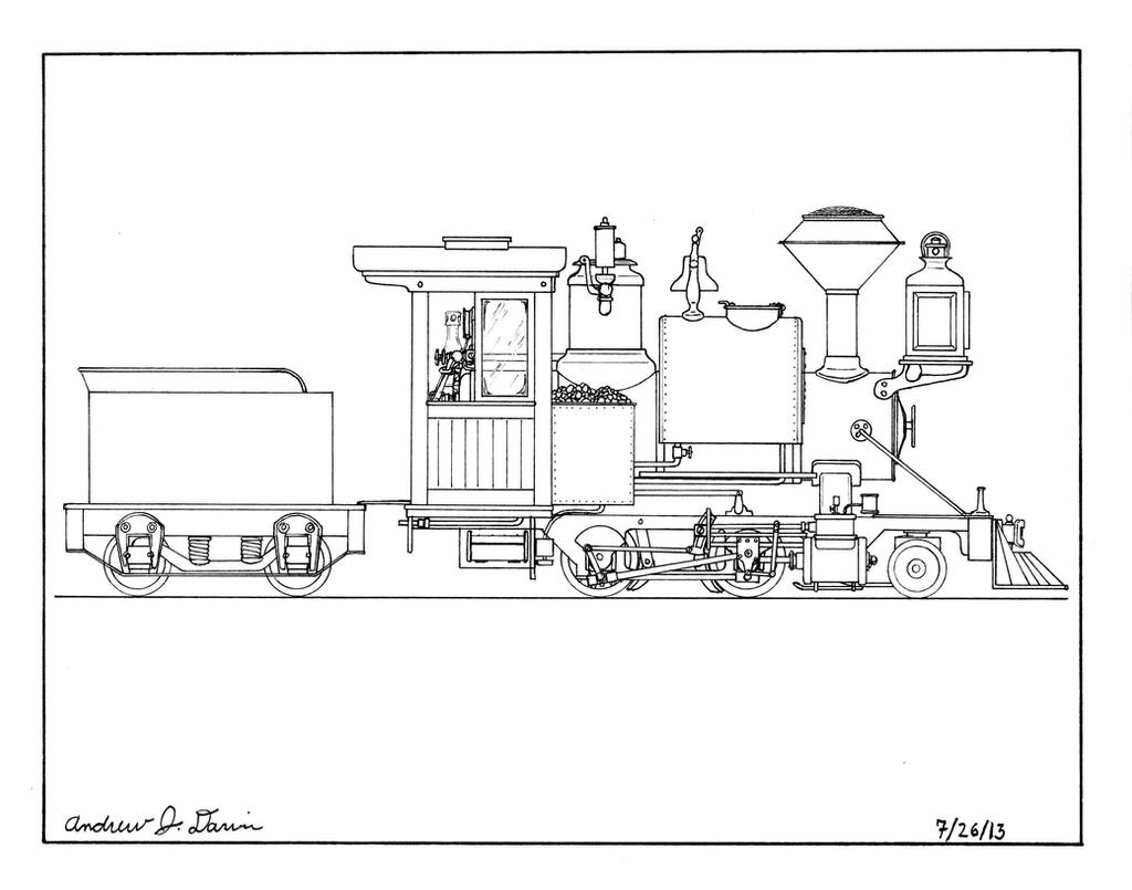 7.5 inch Gauge Live Steam Locomotive by gunslinger87 on